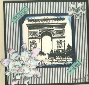 Parisian farewell
