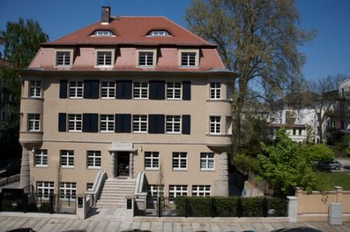 Ariowitsch-Haus kurz vor der Eröffnung