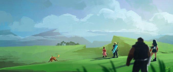 ...über die malerische Landschaft Gaias...