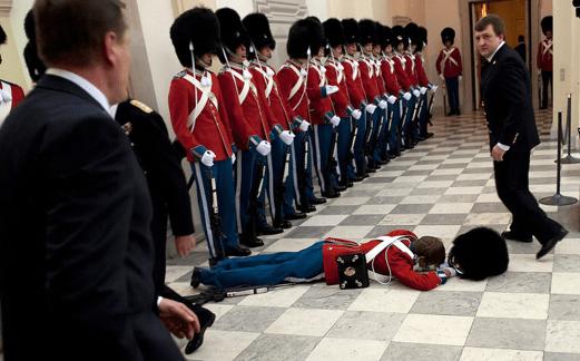 Fainting guard