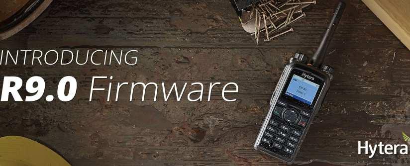 Hytera R9.0 Firmware