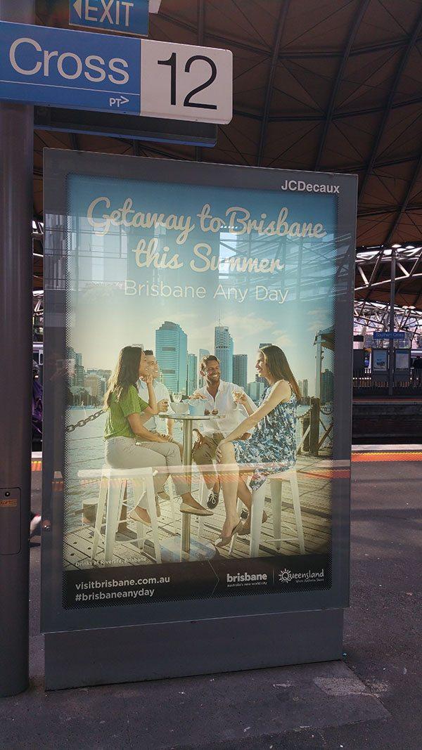 Visit Brisbane ad