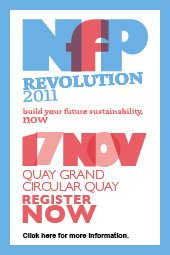 Alex will be speaking at NfP Revolution 2011