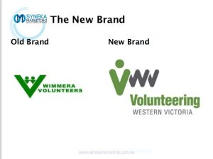The new visual identity and brand for Volunteering Western Victoria