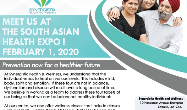 Join Us at the South Asian Health Expo – February 1st
