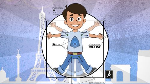 A bunch of surprises for our French users: Get Synfig Training Course in French for free