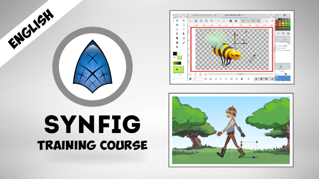 New version of Synfig Training Course released