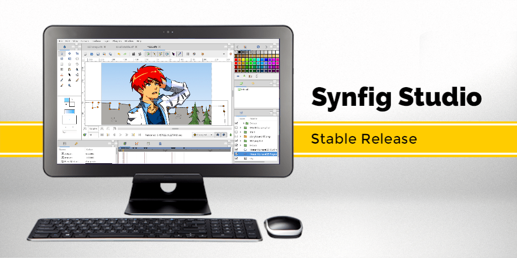 Synfig Studio 1.4.0 released