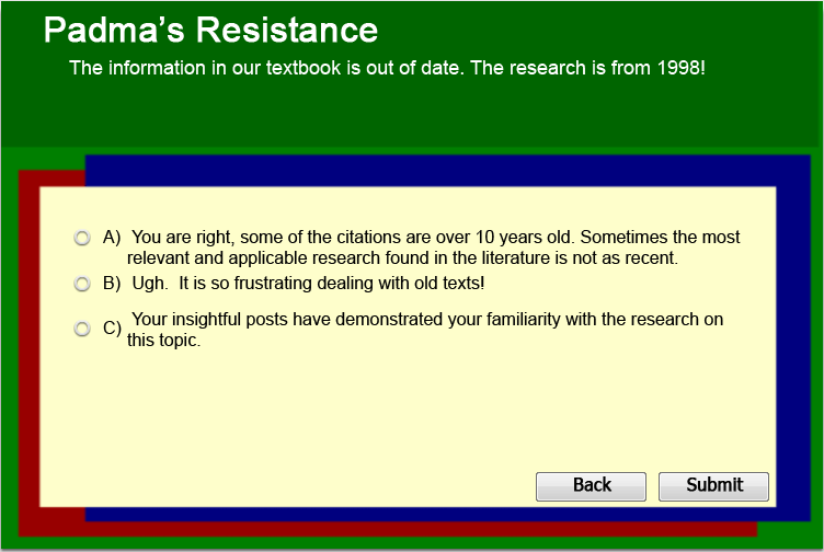 Padma's Resistance