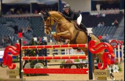 Millie Allen Team Synovium Horse Heath