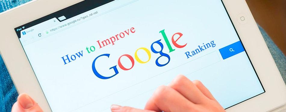 How to Improve Google Ranking?