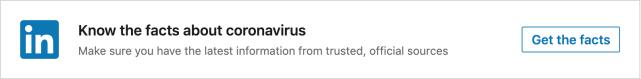linkedin-covid19-misinformation-warning
