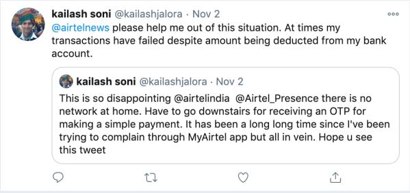 airtel-tweet-covid-network