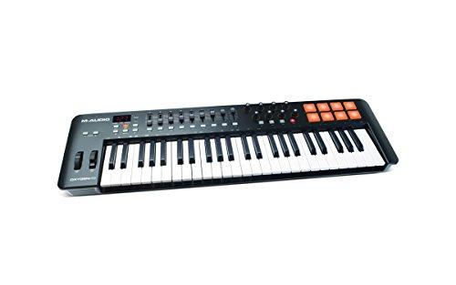 M-Audio Oxygen 49 MKIV | 49-Key USB MIDI Keyboard & Drum Pad