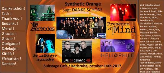Synthetic Orange sagt : DANKE SCHÖN!