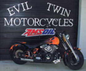 Evil Twins Motorcycle Shop front entrance