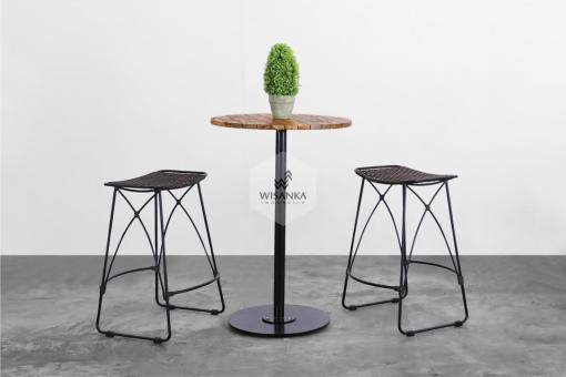 Vicky Bar Set | Synthetic Rattan Furniture Product | Rope | Alumunium | Rattan Furniture | cirebon | Indonesia | Outdoor Rattan Furniture