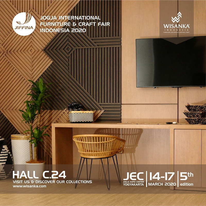 JIFFINA 2020 Jogja International Furniture and Craft Fair 5th edition
