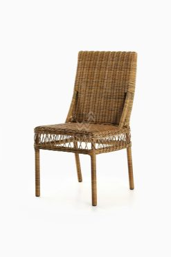 Arte Dining Chair - Outdoor Wicker Dining Chair perspective