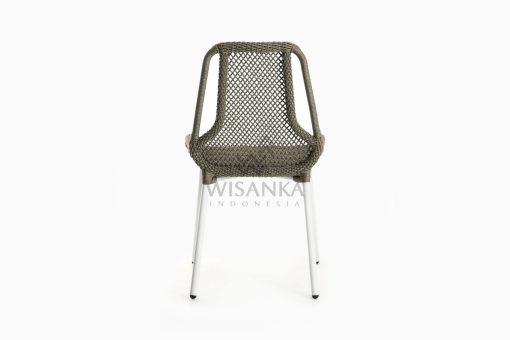 Millen Rope Bistro Side Chair rear