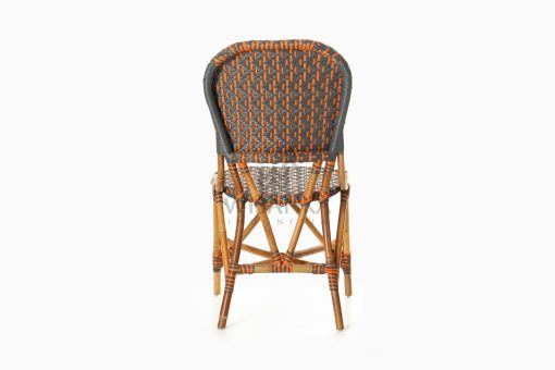 Liko Rattan Bistro Chair for Restaurant and Cafe Furniture rear