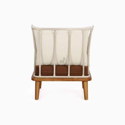 Anjani Terrace Chair - Outdoor Rattan Patio Furniture rear