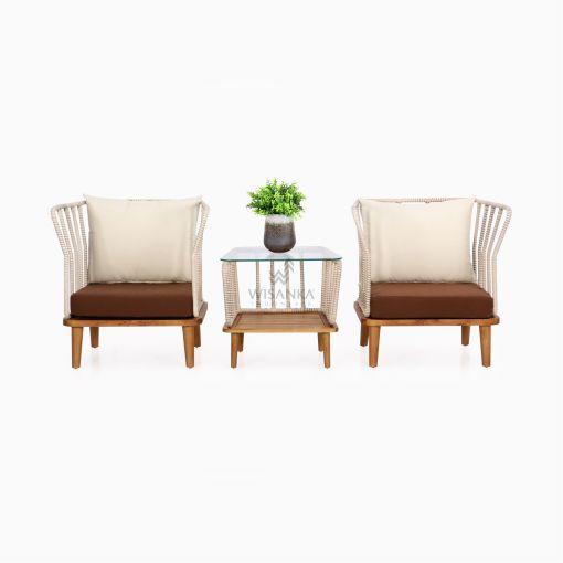 Anjani Terrace Set - Outdoor Rattan Patio Furniture