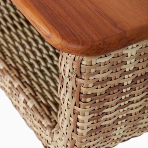 Arka Terrace Table - Outdoor Rattan Patio Furniture detail 1