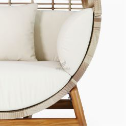 Orza Daybed - Outdoor Rattan Patio Furniture detail