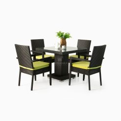 Adrian Dining Set - Outdoor Rattan Patio Furniture