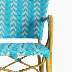 Fae Bistro Chair - Outdoor Rattan Patio Furniture detail 2