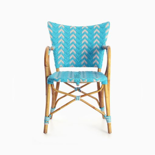 Fae Bistro Chair - Outdoor Rattan Patio Furniture front