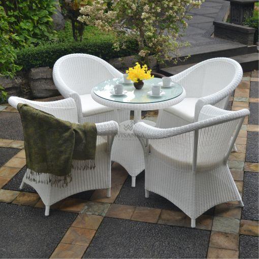 Navarino Dining Set - Outdoor Rattan Garden Furniture