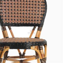 Oka Bistro Chair - Outdoor Rattan Patio Furniture detail 1