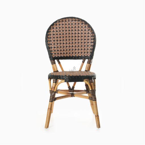 Oka Bistro Chair - Outdoor Rattan Patio Furniture detail 2