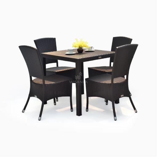 Kenanga Dining Set - Outdoor Rattan Garden Furniture