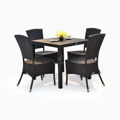 Kenanga Dining Set - Outdoor Rattan Garden Furniture