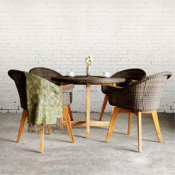 Mia Dining Set - Outdoor Rattan Garden Furniture