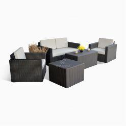 Gratia Living set - Garden Rattan Cube Set