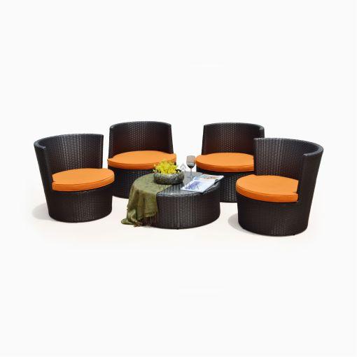 Apollo Living Set - Outdoor Garden Rattan Furniture