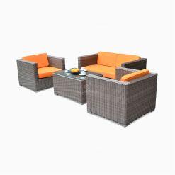 Rinjani Living Set Polyrood cube garden furniture set