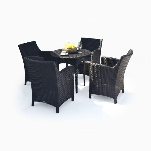 Macca Dining Set Outdoor Rattan Garden Furniture