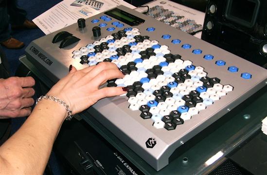 c-thru hex keyboard