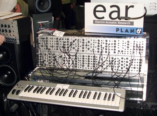 Modular synthesizer EAR group