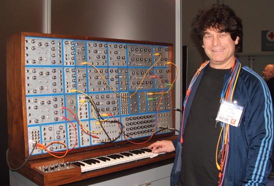 Modular synthesizer EMU - Riley Smith