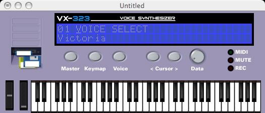 VX-323 Vocal Synthesizer