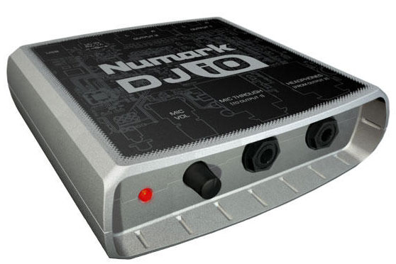 numark introduces the dj io audio output interface synthtopia. Black Bedroom Furniture Sets. Home Design Ideas