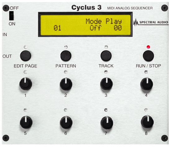 Cyclus 3 Sequencer