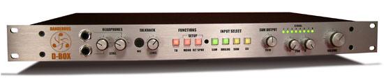 Dangerous Music Ships D-Box Multi-Function DAW Companion Hardware Unit