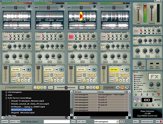 Quad DJ Software